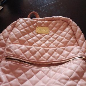 BeBe Margeaux Pink Quilted Mini Backpack MSRP $79
